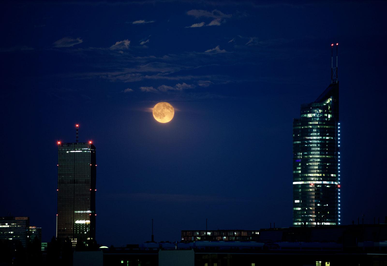 Mondaufgang Wien