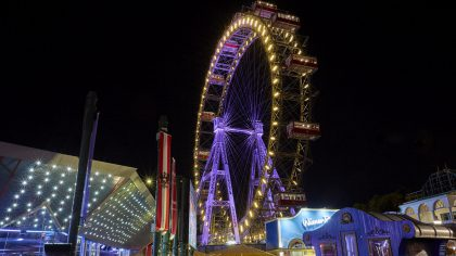 Riesenrad - Giant Ferries Wheel - Vienna
